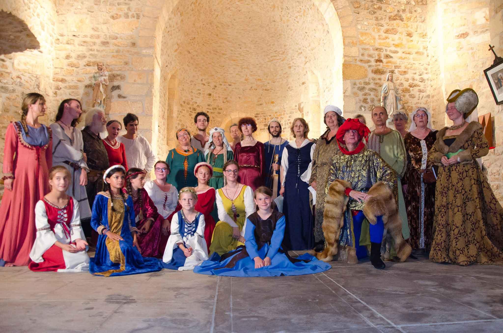 Stages - Morescarole association danses médiévales Dordogne