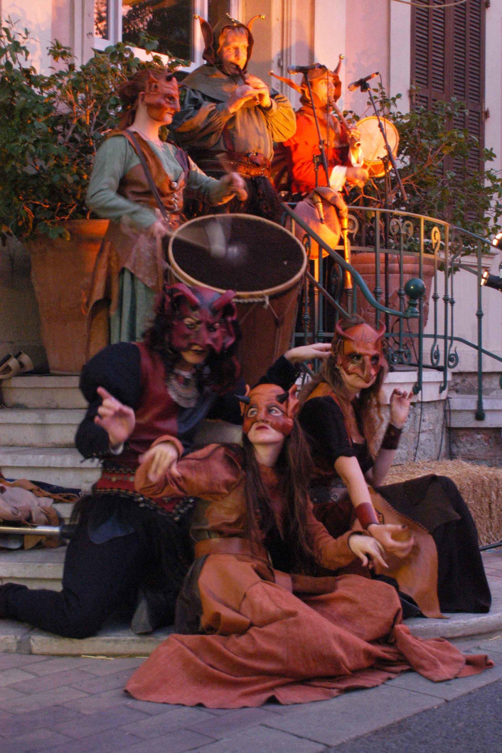Animations bals - Morescarole association danses médiévales Dordogne
