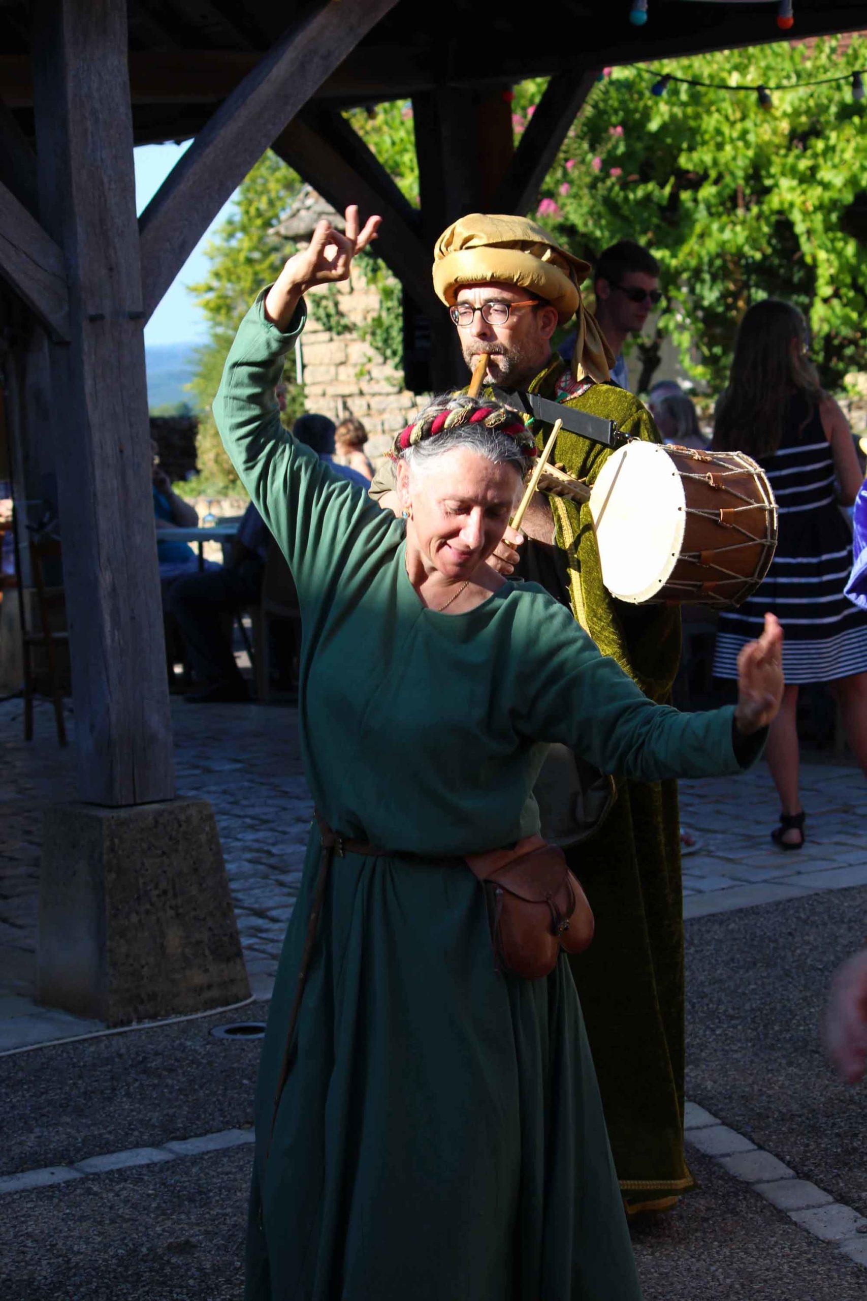 Animations et bals - Morescarole association danses médiévales Dordogne